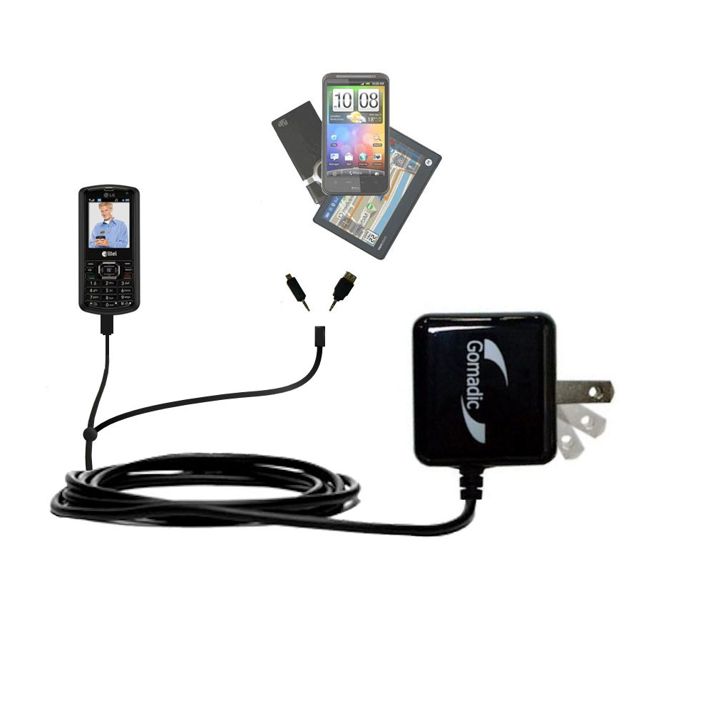 Double Wall Home Charger with tips including compatible with the LG AX265