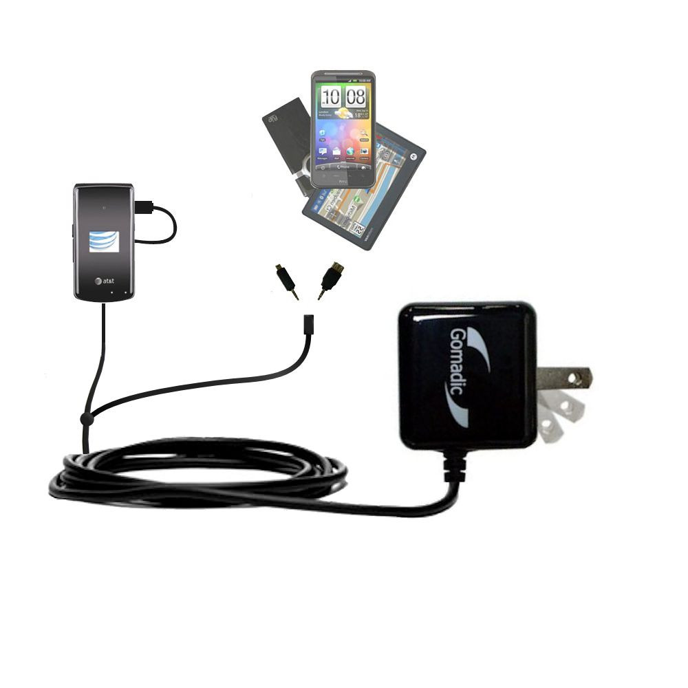 Double Wall Home Charger with tips including compatible with the LG CU515