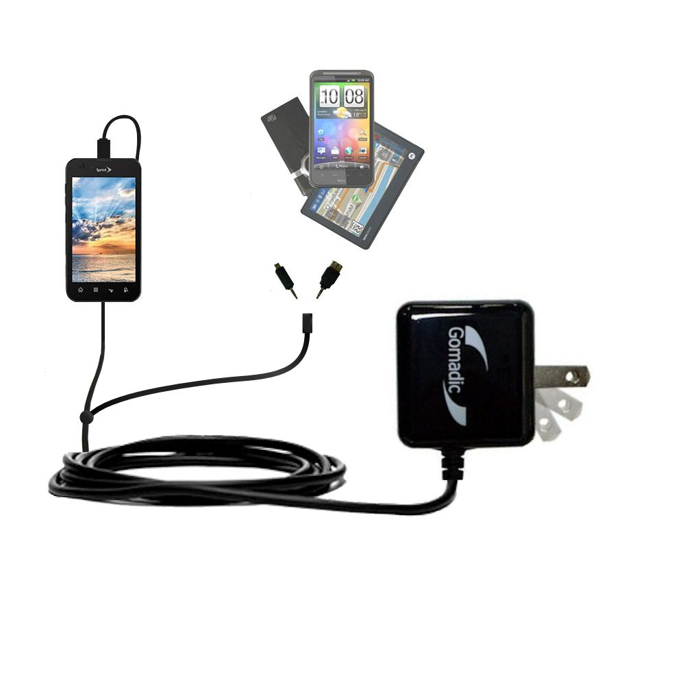 Double Wall Home Charger with tips including compatible with the LG Marquee