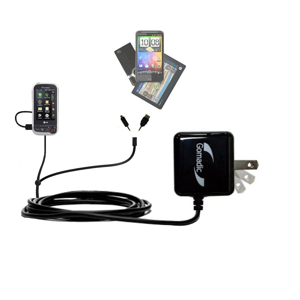 Double Wall Home Charger with tips including compatible with the LG Tritan