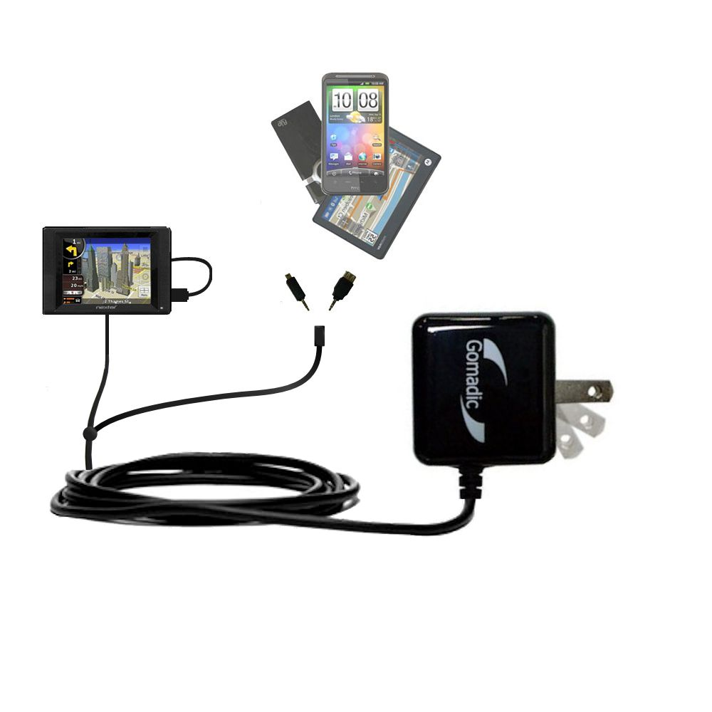 Double Wall Home Charger with tips including compatible with the Nextar SNAP5