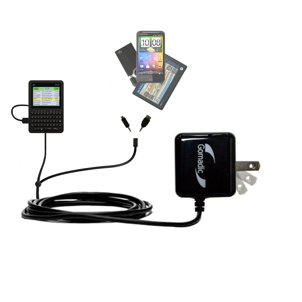 Double Wall Home Charger with tips including compatible with the Peek GetPeek