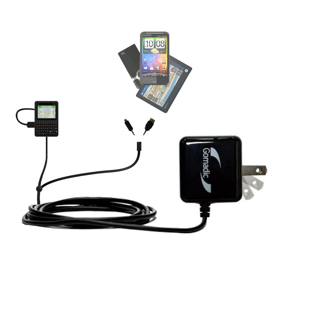Double Wall Home Charger with tips including compatible with the Peek GetPeek Pronto