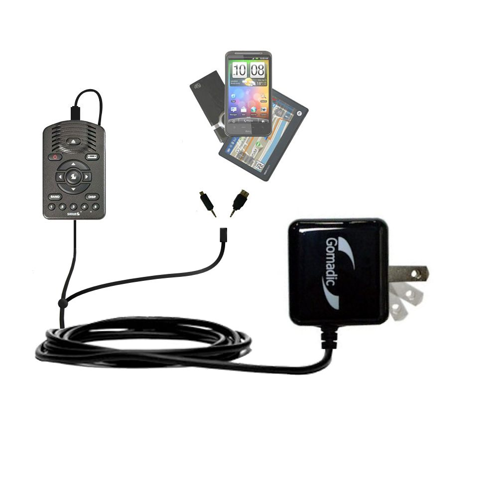 Double Wall Home Charger with tips including compatible with the Sirius One SV1