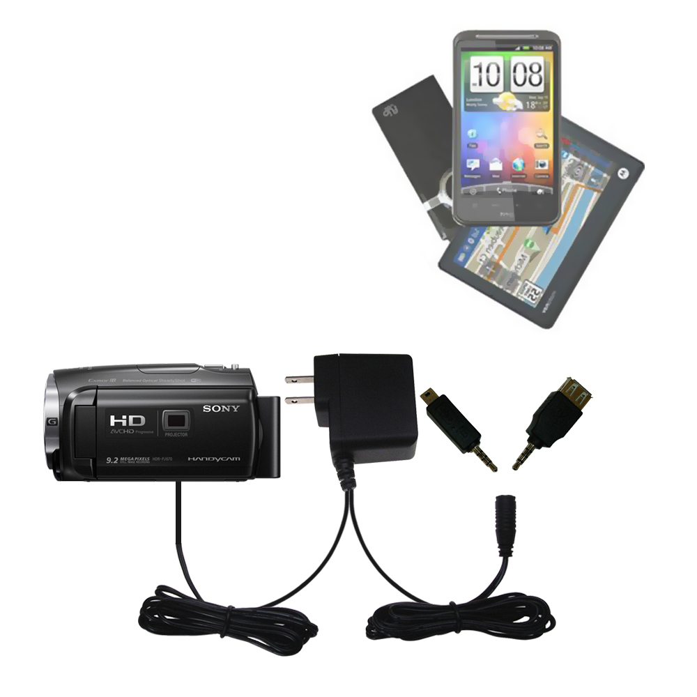 PJ440 Gomadic High Capacity Rechargeable External Battery Pack Suitable for The Sony HDR-PJ440