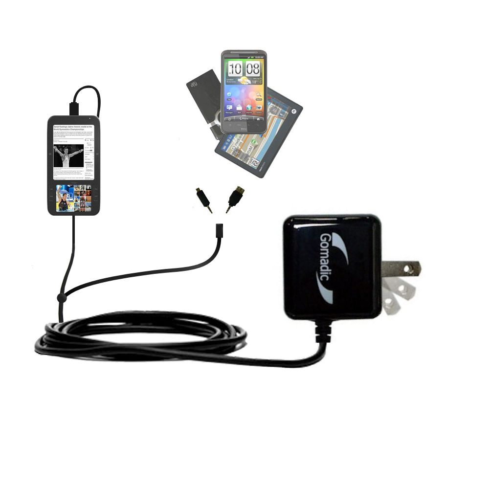 Double Wall Home Charger with tips including compatible with the Spring Design Alex