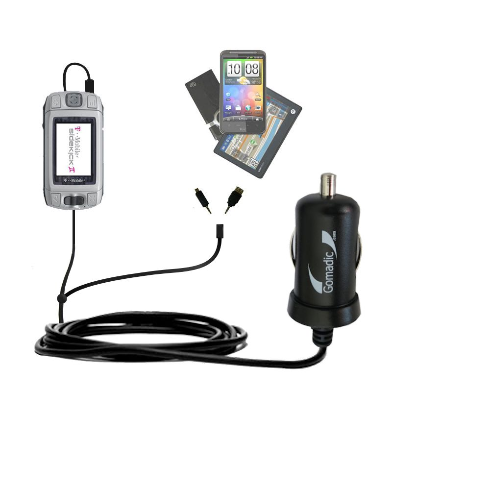 Double Port Micro Gomadic Car Auto Dc Charger Suitable For The T