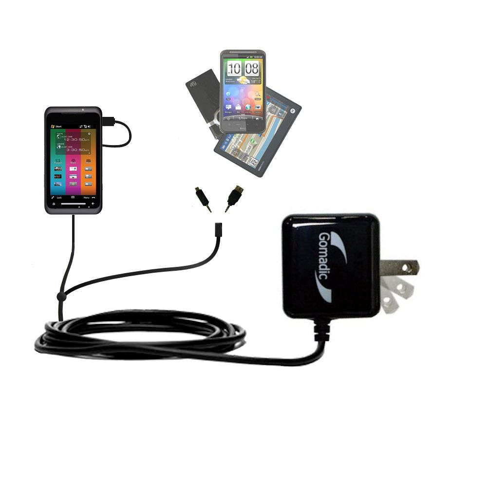 Double Wall Home Charger with tips including compatible with the Toshiba TG01