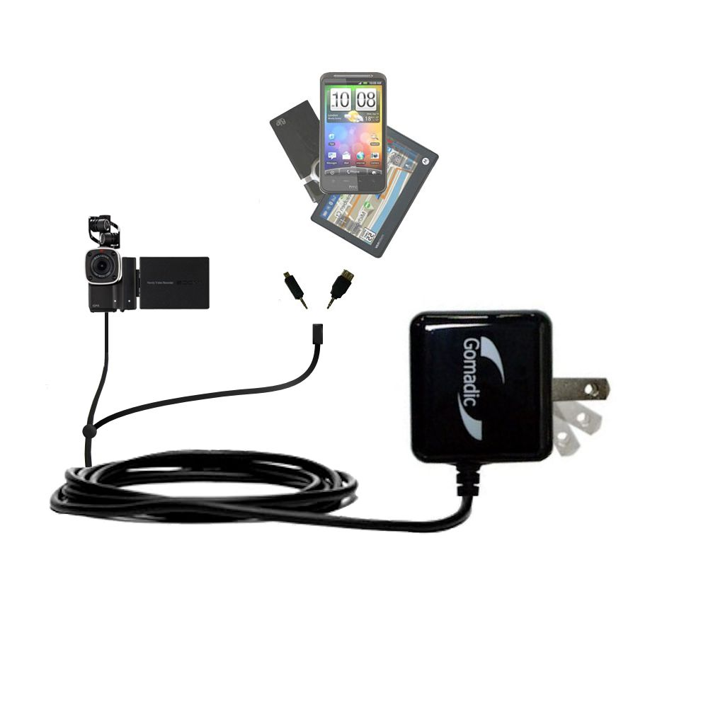 Double Wall Home Charger with tips including compatible with the Zoom Q4