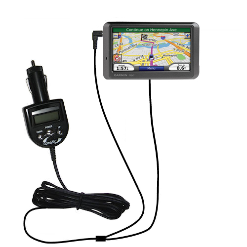 FM Transmitter & Car Charger compatible with the Garmin Nuvi 760 760T