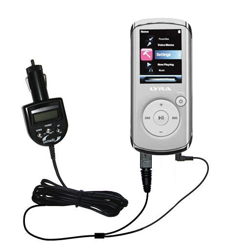 FM Transmitter & Car Charger compatible with the RCA MC4202 MC4204 MC4208 OPAL