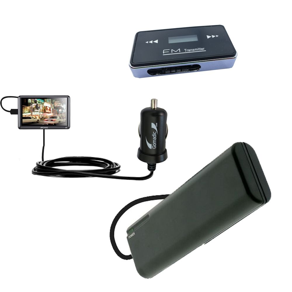 holiday accessory gift bundle set for the Archos 50b Vision