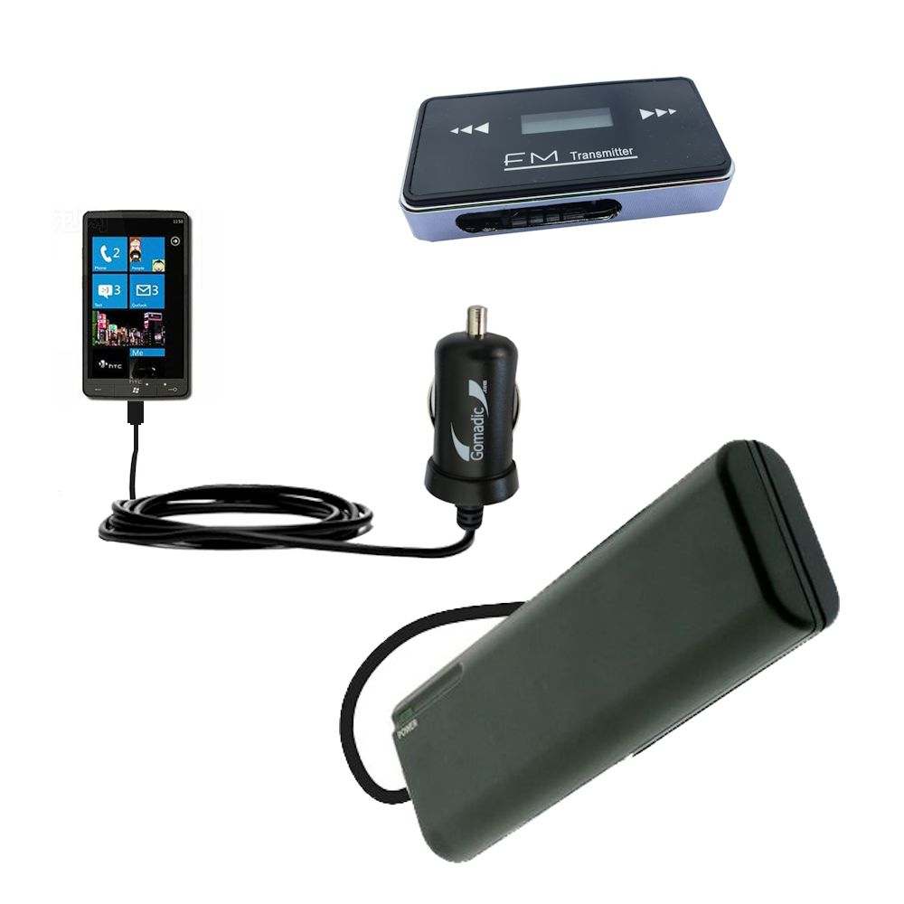 holiday accessory gift bundle set for the HTC HD7