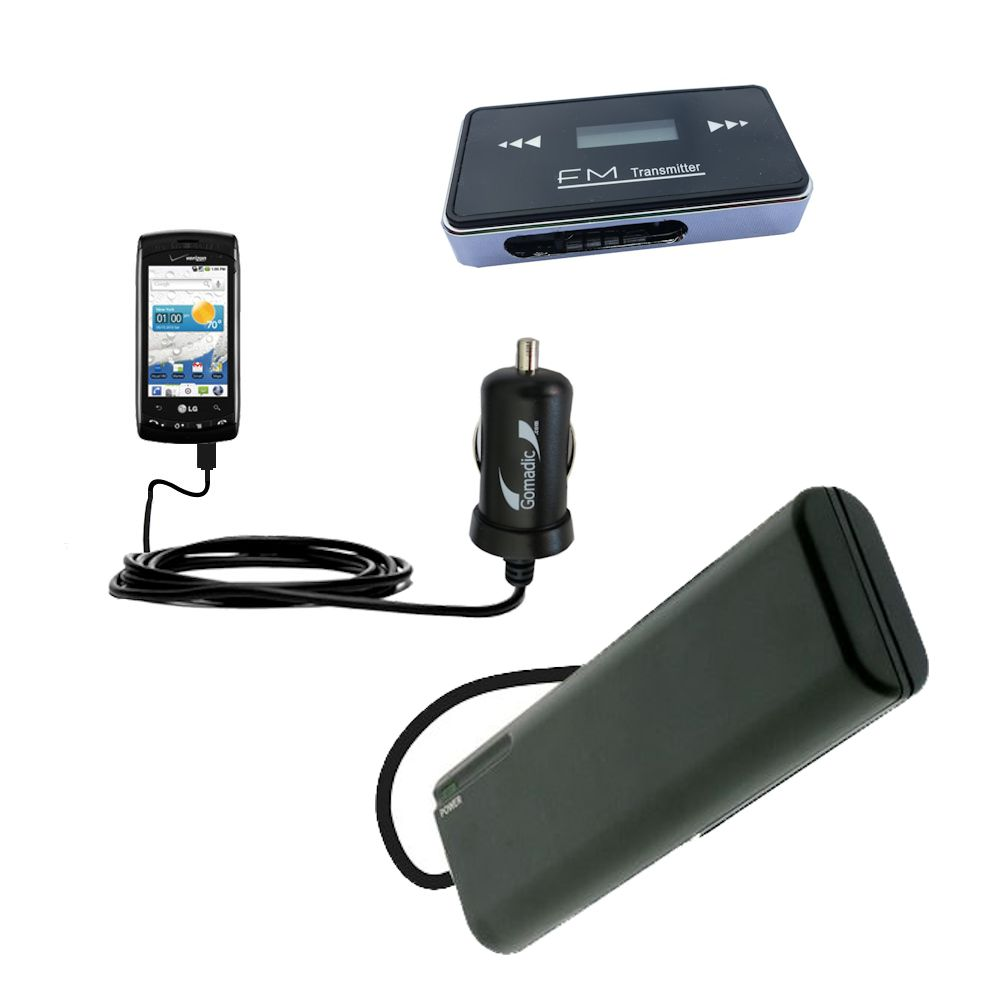 holiday accessory gift bundle set for the LG Ally