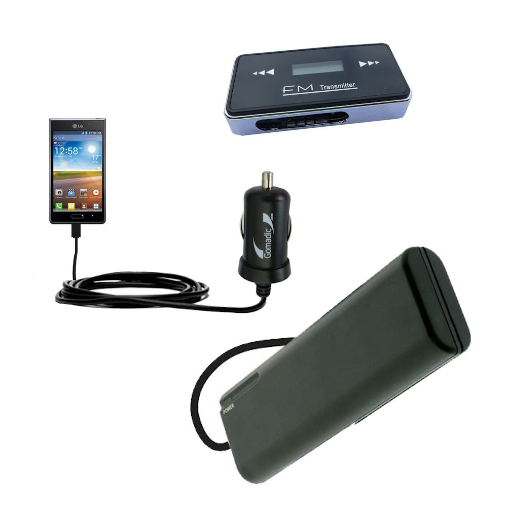 holiday accessory gift bundle set for the LG Optimus L7