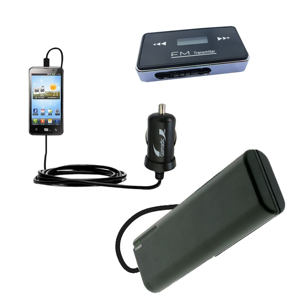 holiday accessory gift bundle set for the LG Revolution 2