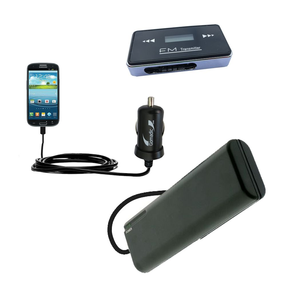 holiday accessory gift bundle set for the Samsung Galaxy S III