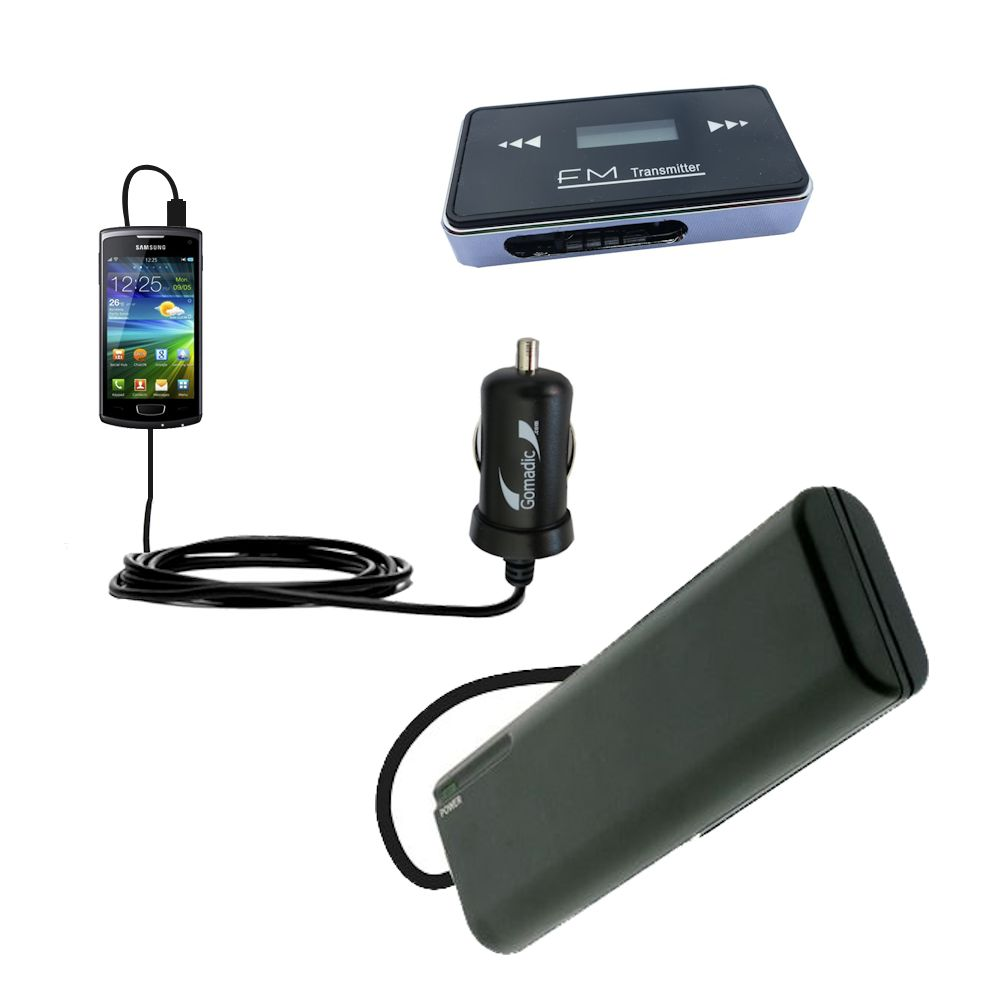3rd Generation Powerful Audio Fm Transmitter With Car