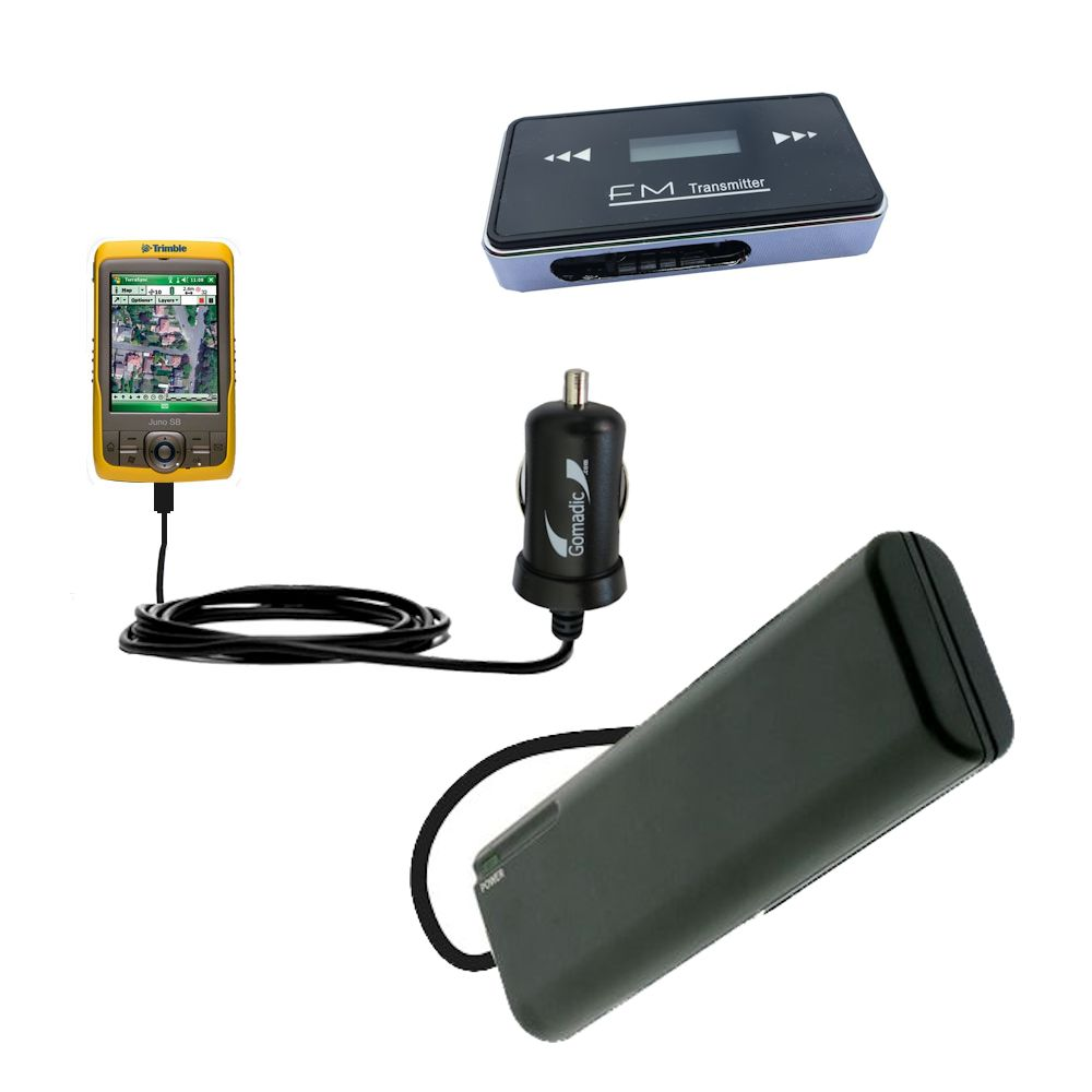 holiday accessory gift bundle set for the Trimble Juno SB