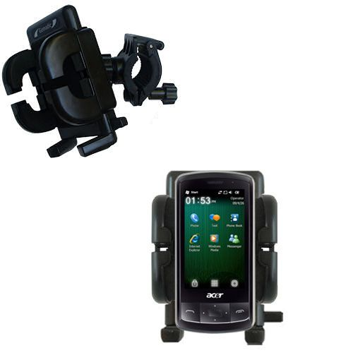 Handlebar Holder compatible with the Acer beTouch E200 E210