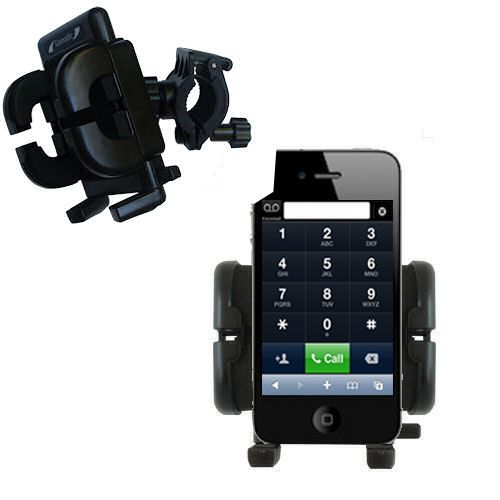Handlebar Holder compatible with the Apple iPhone 4