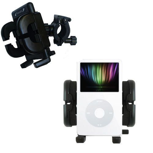 Handlebar Holder compatible with the Apple iPod 5G Video (30GB)