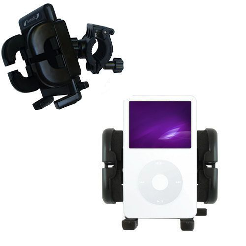 Handlebar Holder compatible with the Apple iPod 5G Video (60GB)
