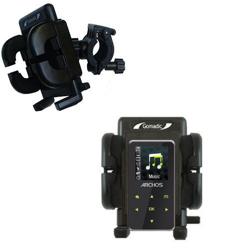 Handlebar Holder compatible with the Archos 15 15b Vision A15VS