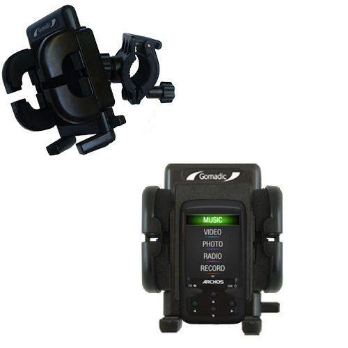 Handlebar Holder compatible with the Archos 24 Vision AV24VB