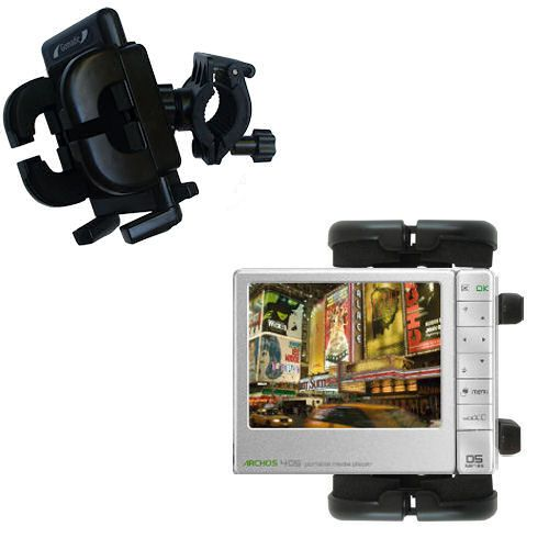 Handlebar Holder compatible with the Archos 405