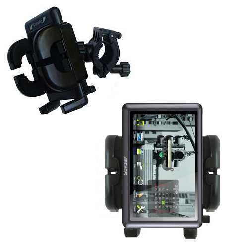 Handlebar Holder compatible with the Archos 50b Vision