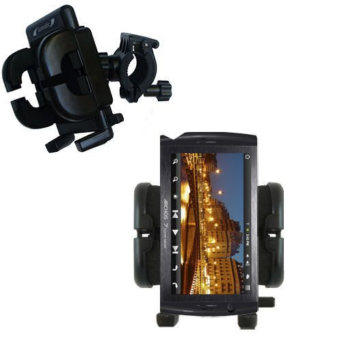 Handlebar Holder compatible with the Archos 7 Home Tablet with Android