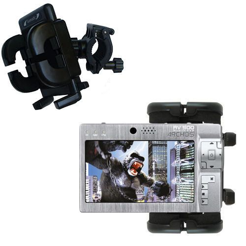 Handlebar Holder compatible with the Archos AV500 Series
