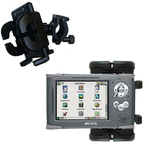 Handlebar Holder compatible with the Archos PMA 400