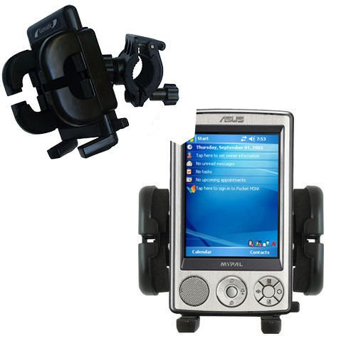 Handlebar Holder compatible with the Asus MyPal A632 A636