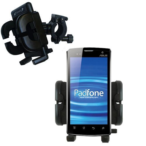 Handlebar Holder compatible with the Asus PadFone