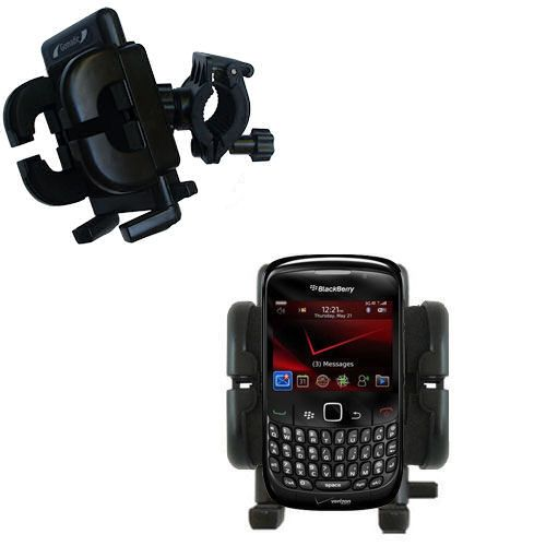 Handlebar Holder compatible with the Blackberry Bold 9650