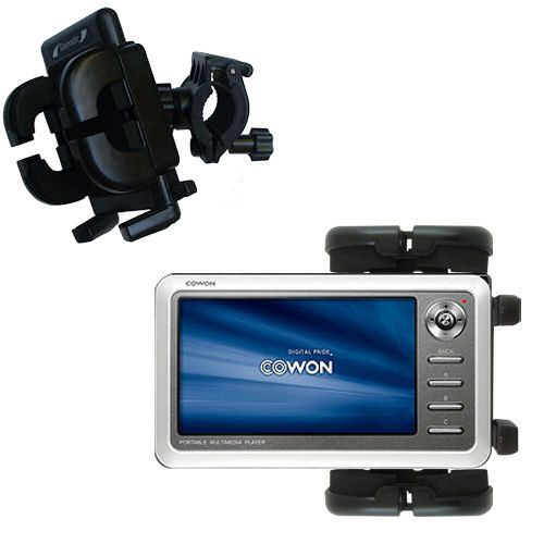 Handlebar Holder compatible with the Cowon iAudio A2 Portable Media Player