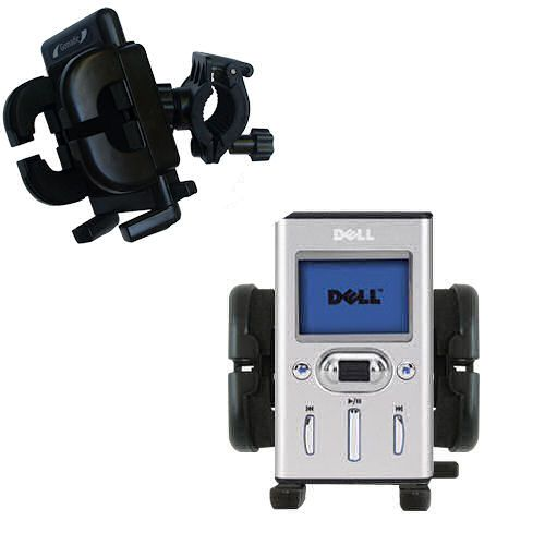 Handlebar Holder compatible with the Dell Pocket DJ 15GB