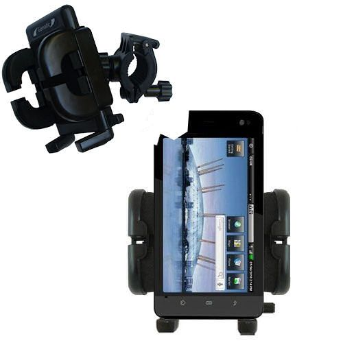 Handlebar Holder compatible with the Dell Streak 5