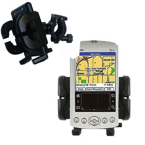 Handlebar Holder compatible with the Garmin iQue 3200