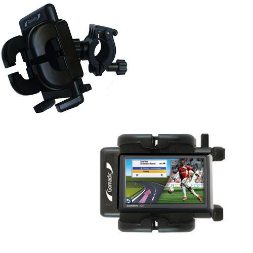 Handlebar Holder compatible with the Garmin Nuvi 1490Tpro