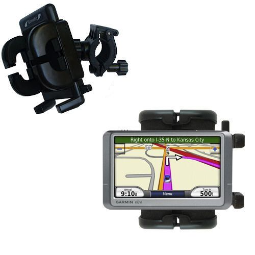 Handlebar Holder compatible with the Garmin Nuvi 205W