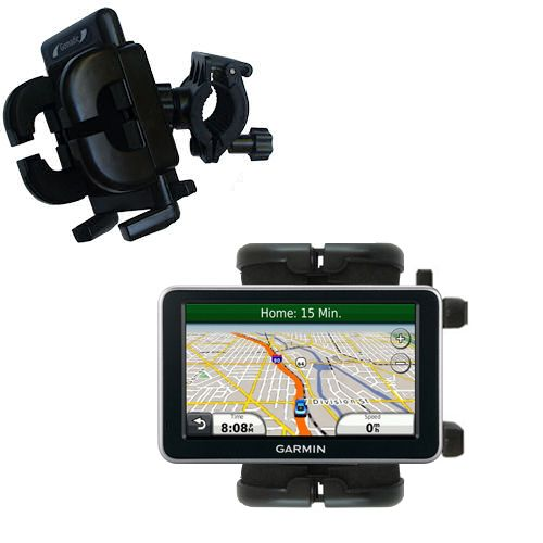 Handlebar Holder compatible with the Garmin Nuvi 2350