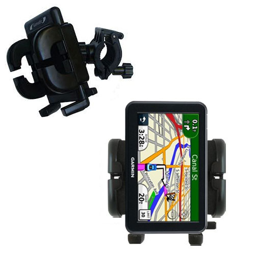 Handlebar Holder compatible with the Garmin Nuvi 3450 3450LM