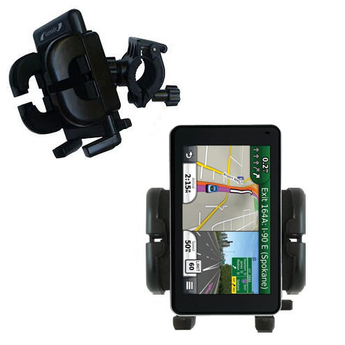 Handlebar Holder compatible with the Garmin Nuvi 3490