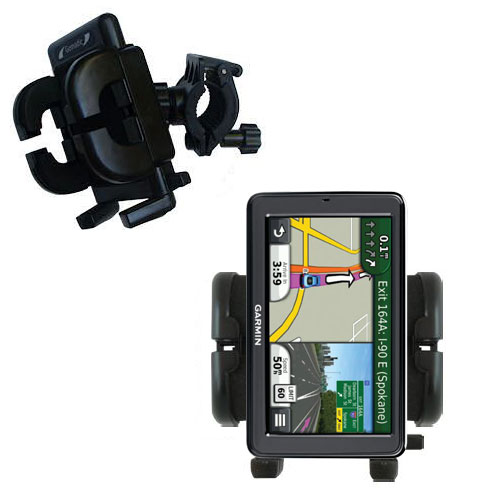 Handlebar Holder compatible with the Garmin Nuvi 3550