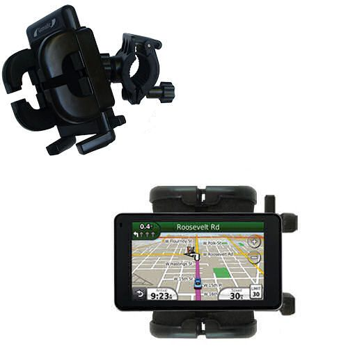 Handlebar Holder compatible with the Garmin Nuvi 3750