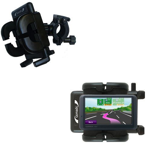 Handlebar Holder compatible with the Garmin Nuvi 755T