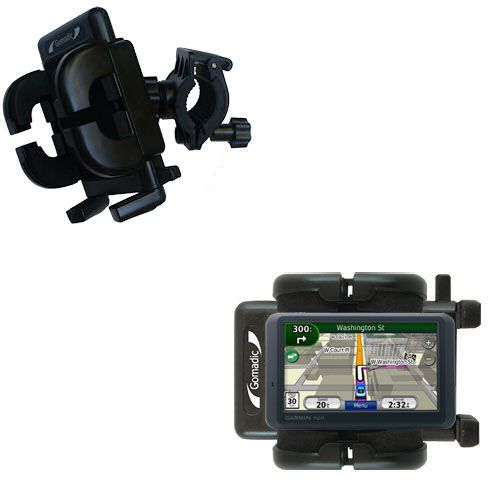 Handlebar Holder compatible with the Garmin Nuvi 765T